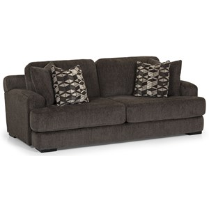 Casual 2 Seat Sofa with Deep Seats