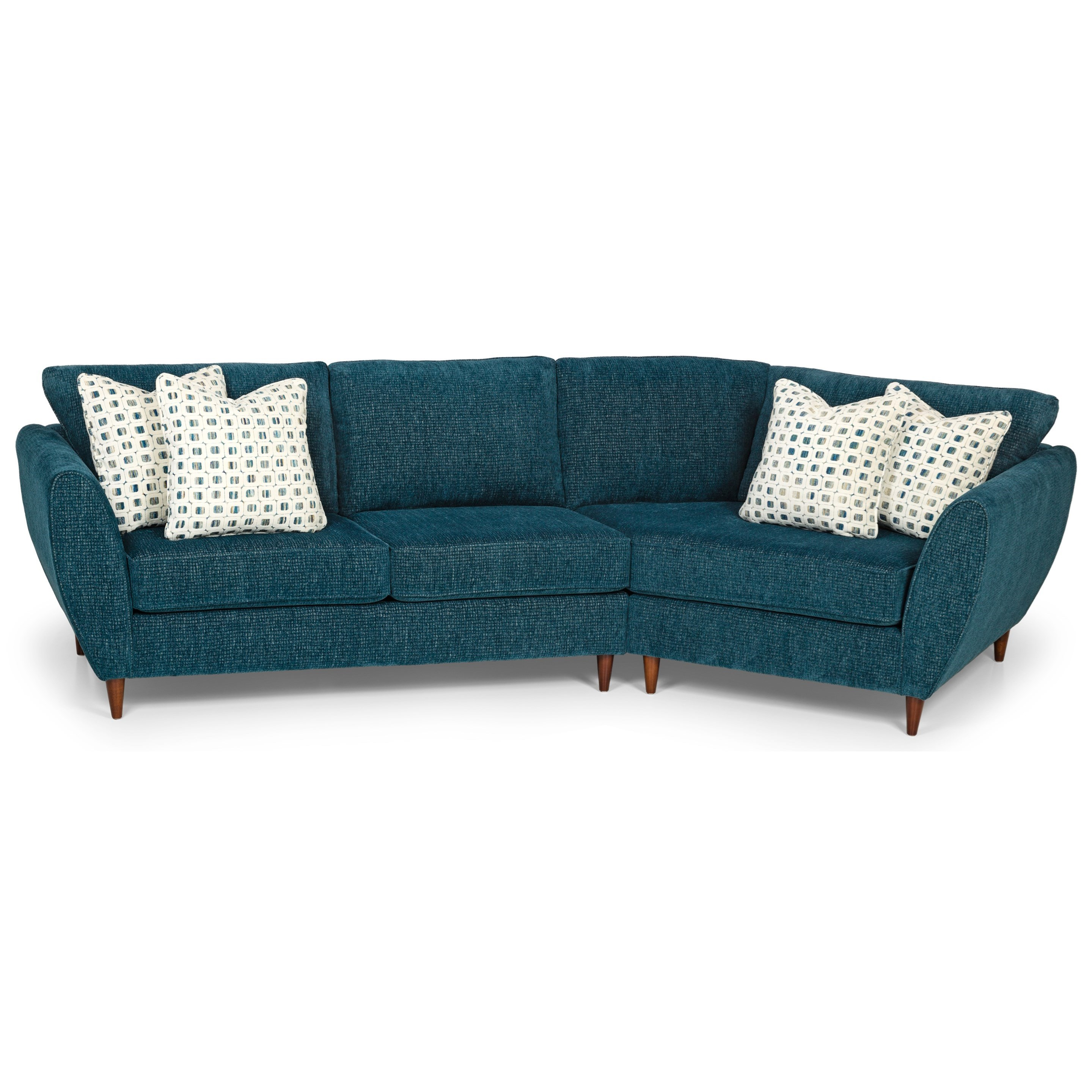 473 2-Piece Sectional Sofa w/ RAF Cuddler by Stanton at Wilson's Furniture