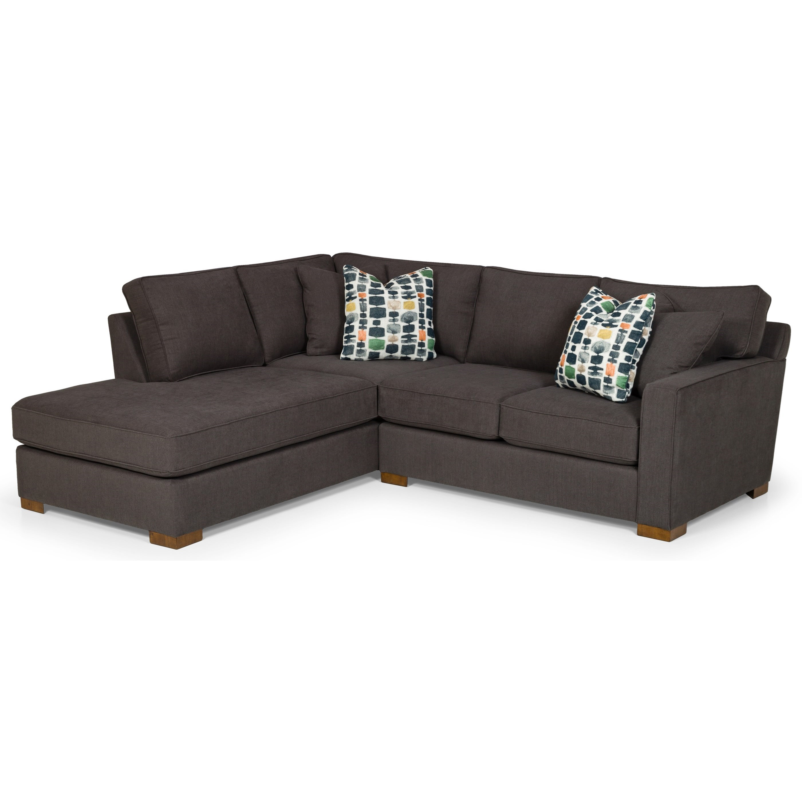 483 3-Seat Sectional Sofa w/ LAF Chaise by Sunset Home at Sadler's Home Furnishings