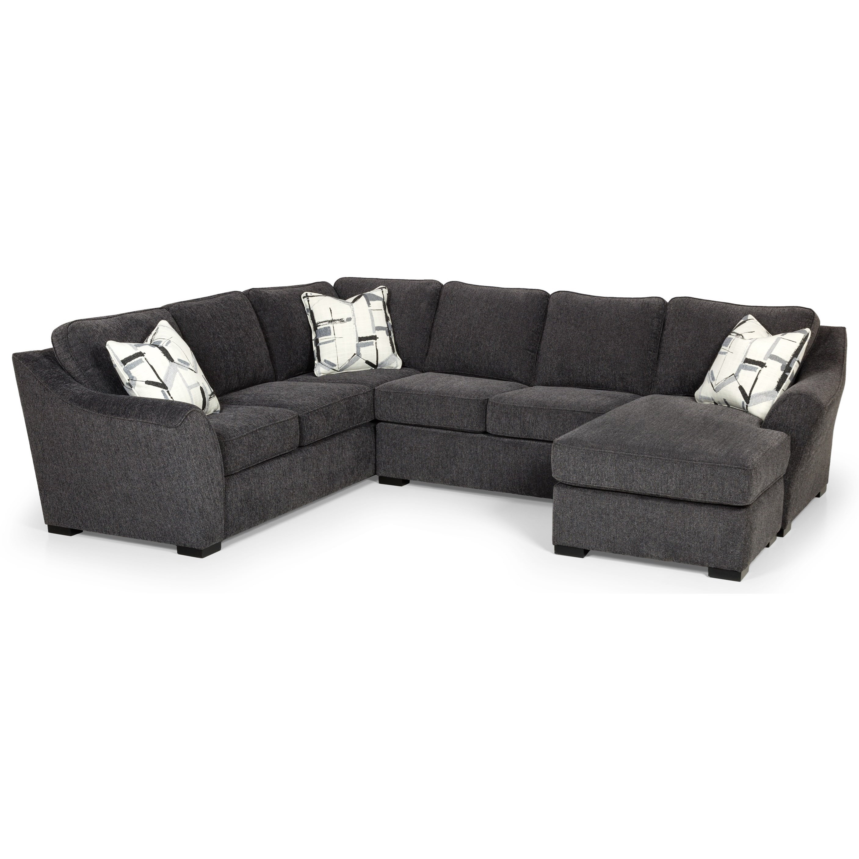 484 Sectional Sofa by Stanton at Rife's Home Furniture
