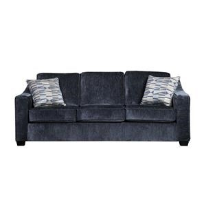 Contemporary Sofa with Sloped Track Arms