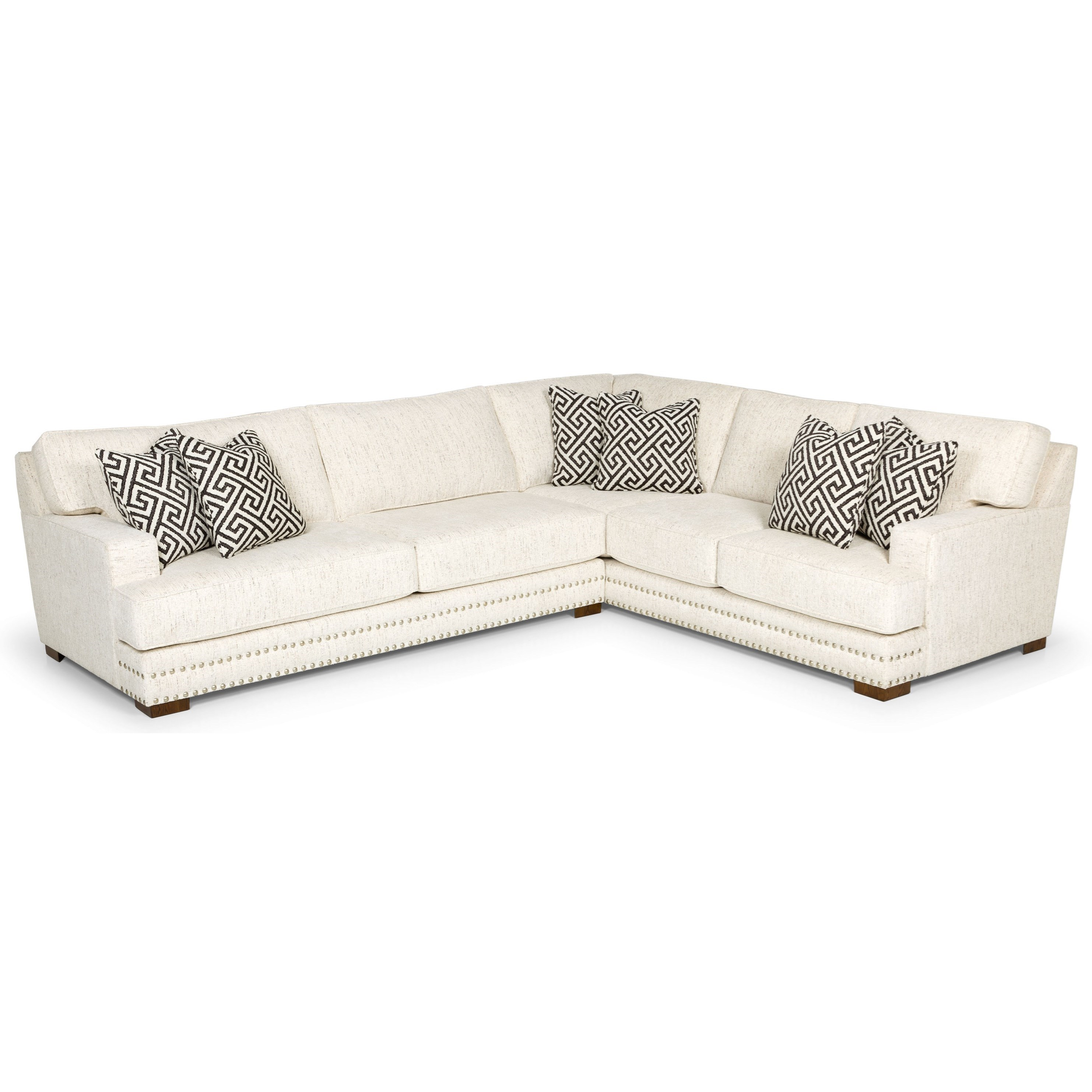 504 L-Shape Sectional Sofa by Sunset Home at Sadler's Home Furnishings