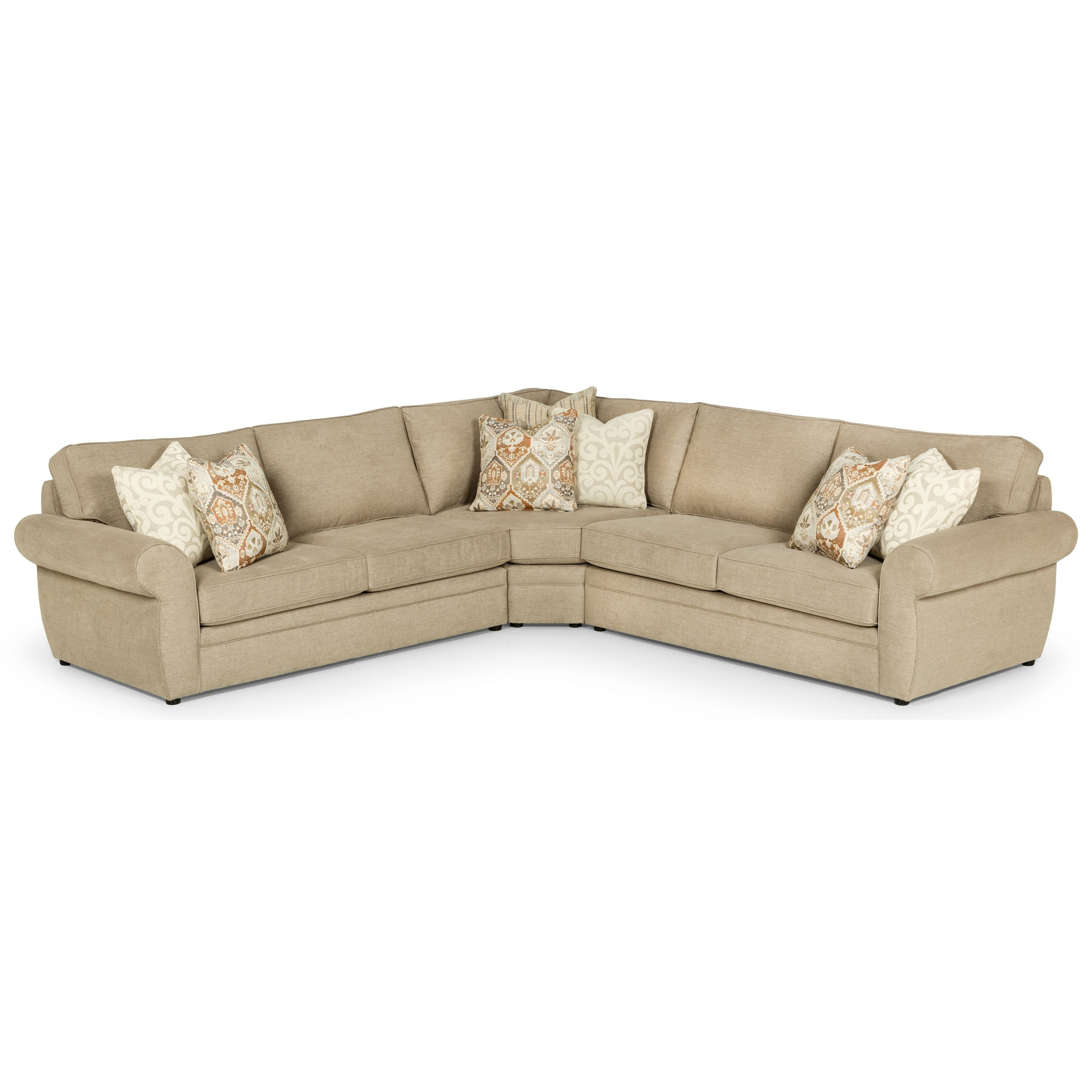 554 4-Seat Sectional Sofa by Stanton at Wilson's Furniture