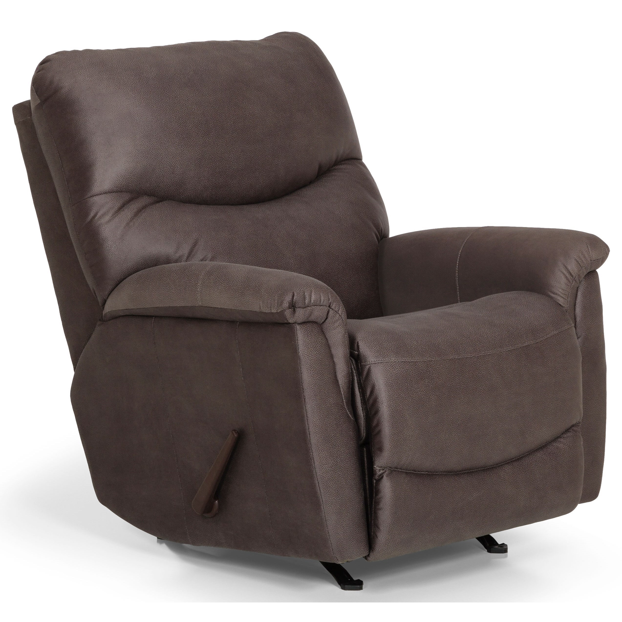 811 Swivel Gliding Reclining Chair by Stanton at Wilson's Furniture