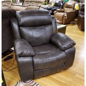 Power Reclining Chair with Power Head/Lumbar and USB Port