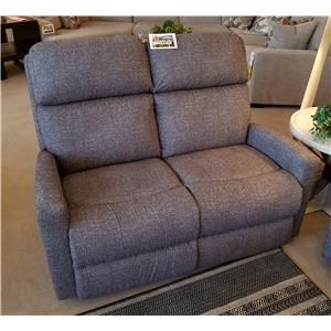 Contemporary Power Reclining Loveseat with Power Head/Lumbar and USB Charging Ports
