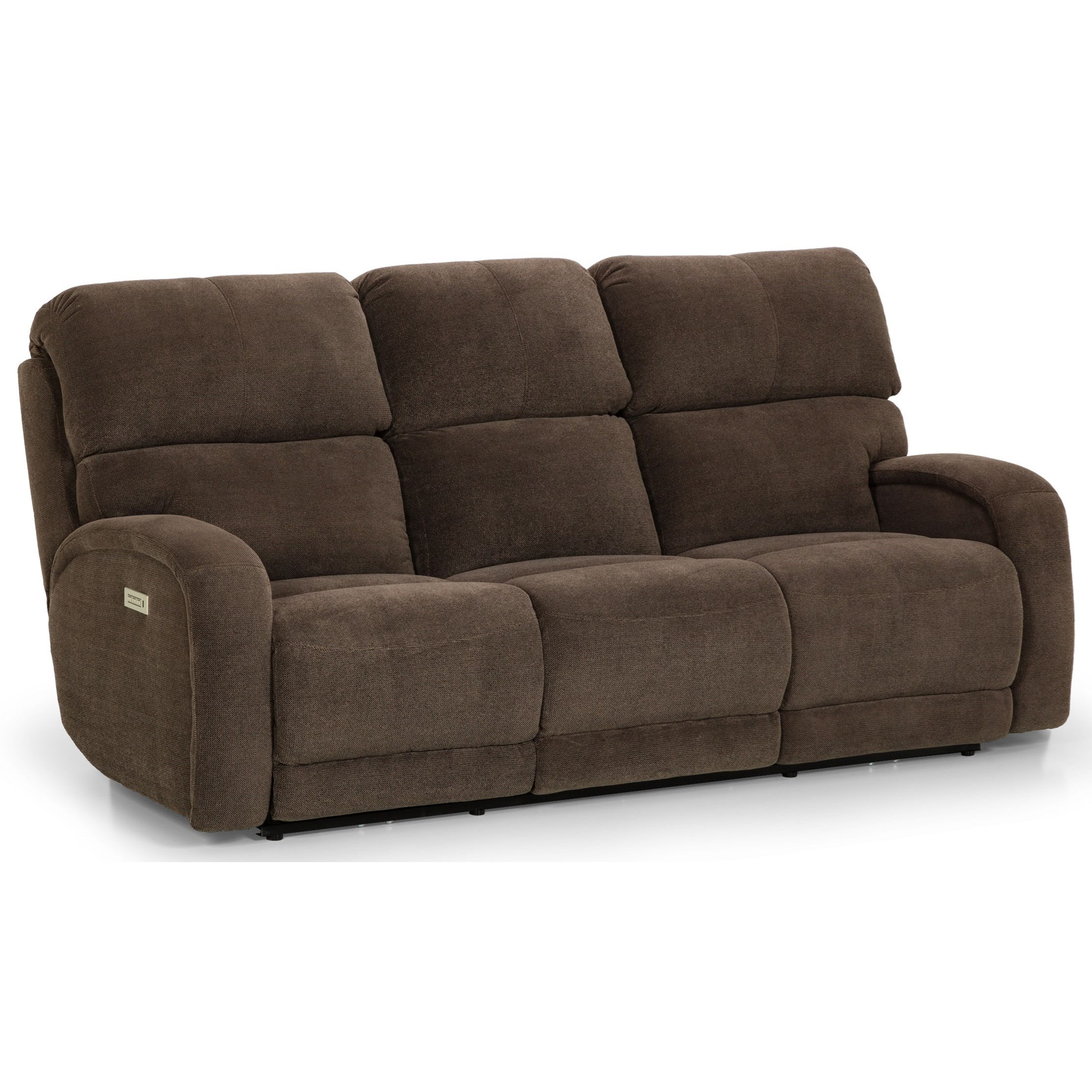 858 Reclining Sofa by Sunset Home at Sadler's Home Furnishings