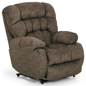 Casual Tufted Power Lift Recliner