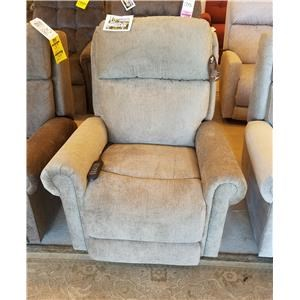 Casual Power Lift Recliner with Power Headrest and Lumbar
