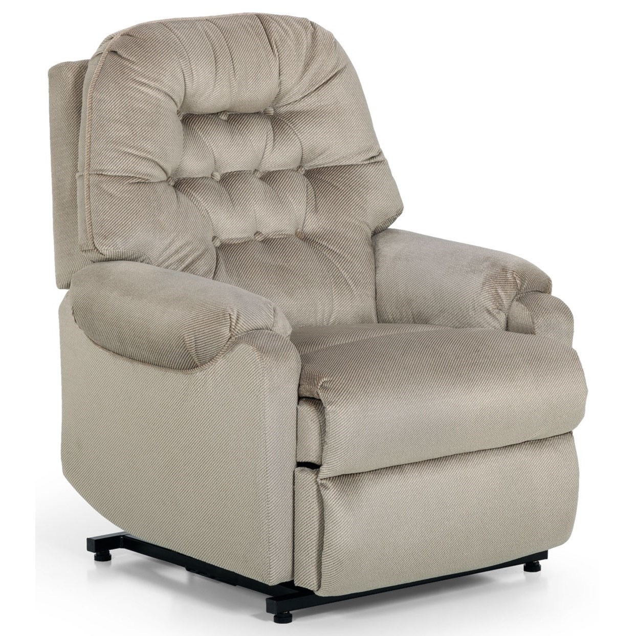 873 Swivel Glider Recliner by Stanton at Rife's Home Furniture