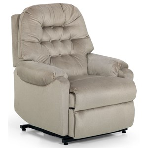 Traditional Tufted Power Lift Recliner
