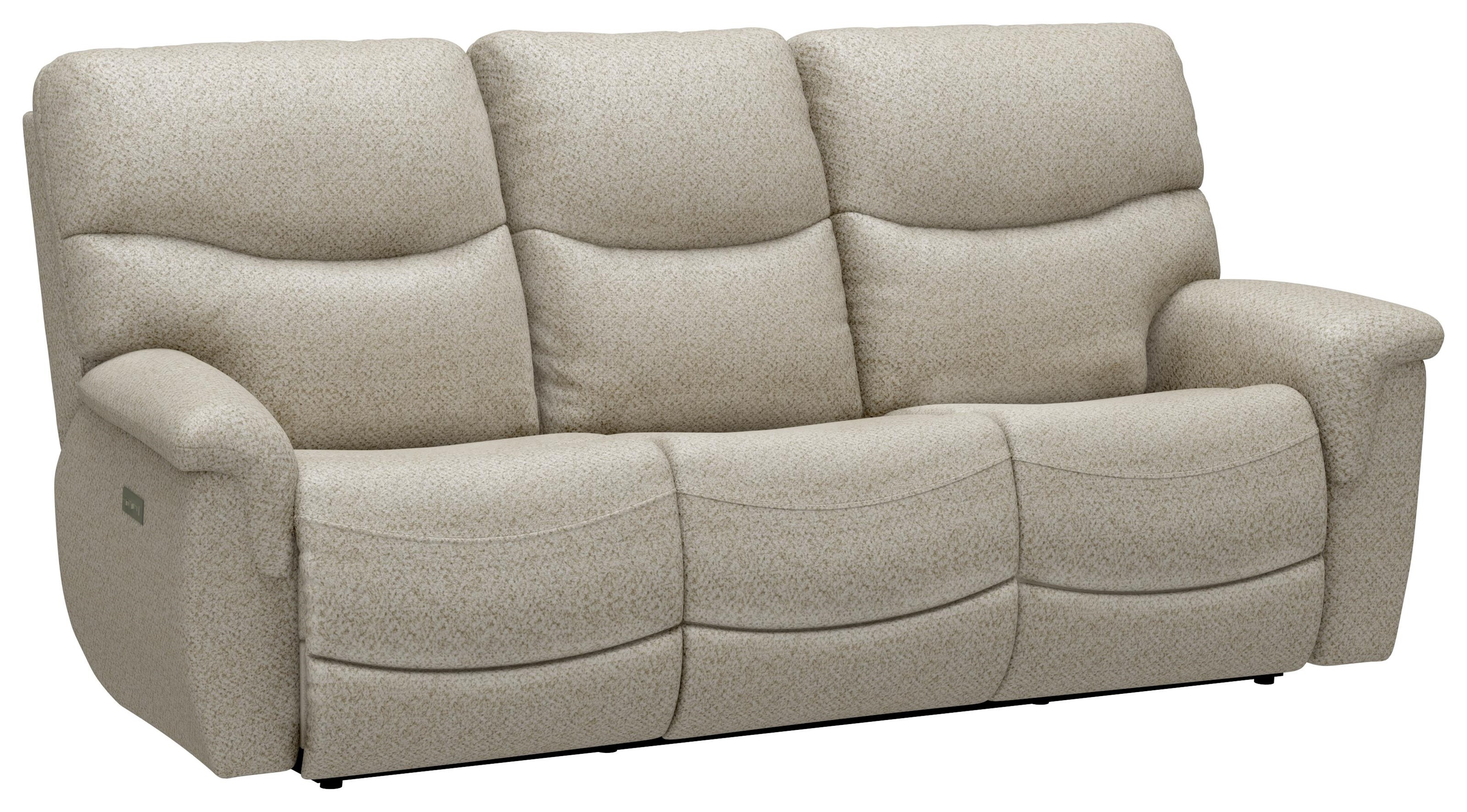 Alex Triple Power Reclining Sofa by Sunset Home at Walker's Furniture