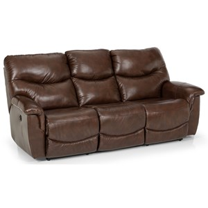 Casual Power Reclining Sofa with USB