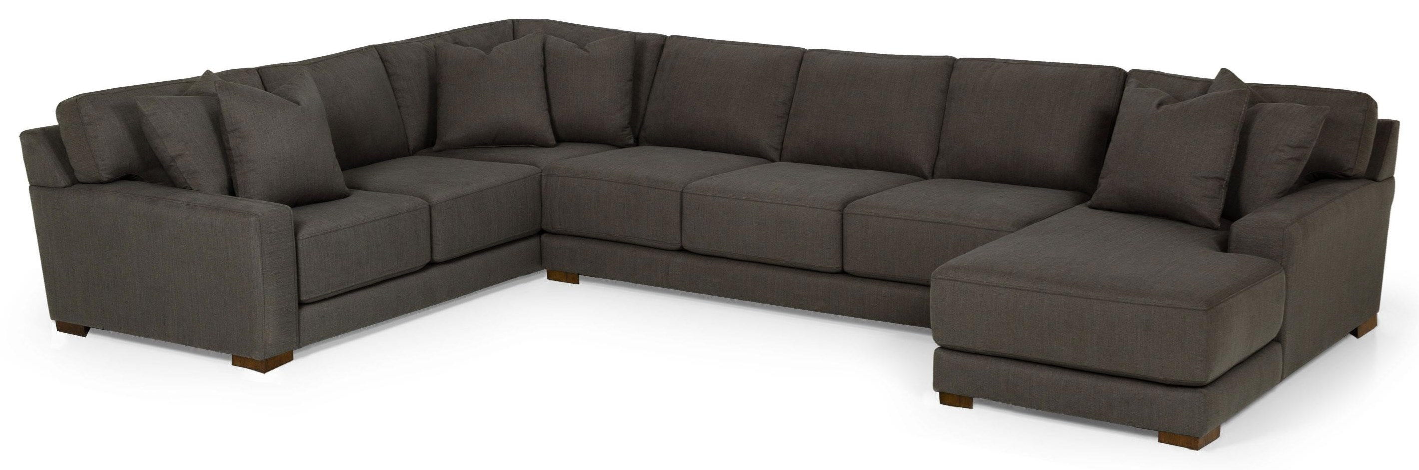 Dax 3 PIECE SECTIONAL WITH SOFA CHAISE by Sunset Home at Walker's Furniture