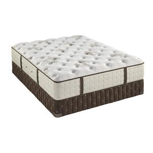 Twin Extra Long Luxury Plush Mattress and Iconic Flat Foundation