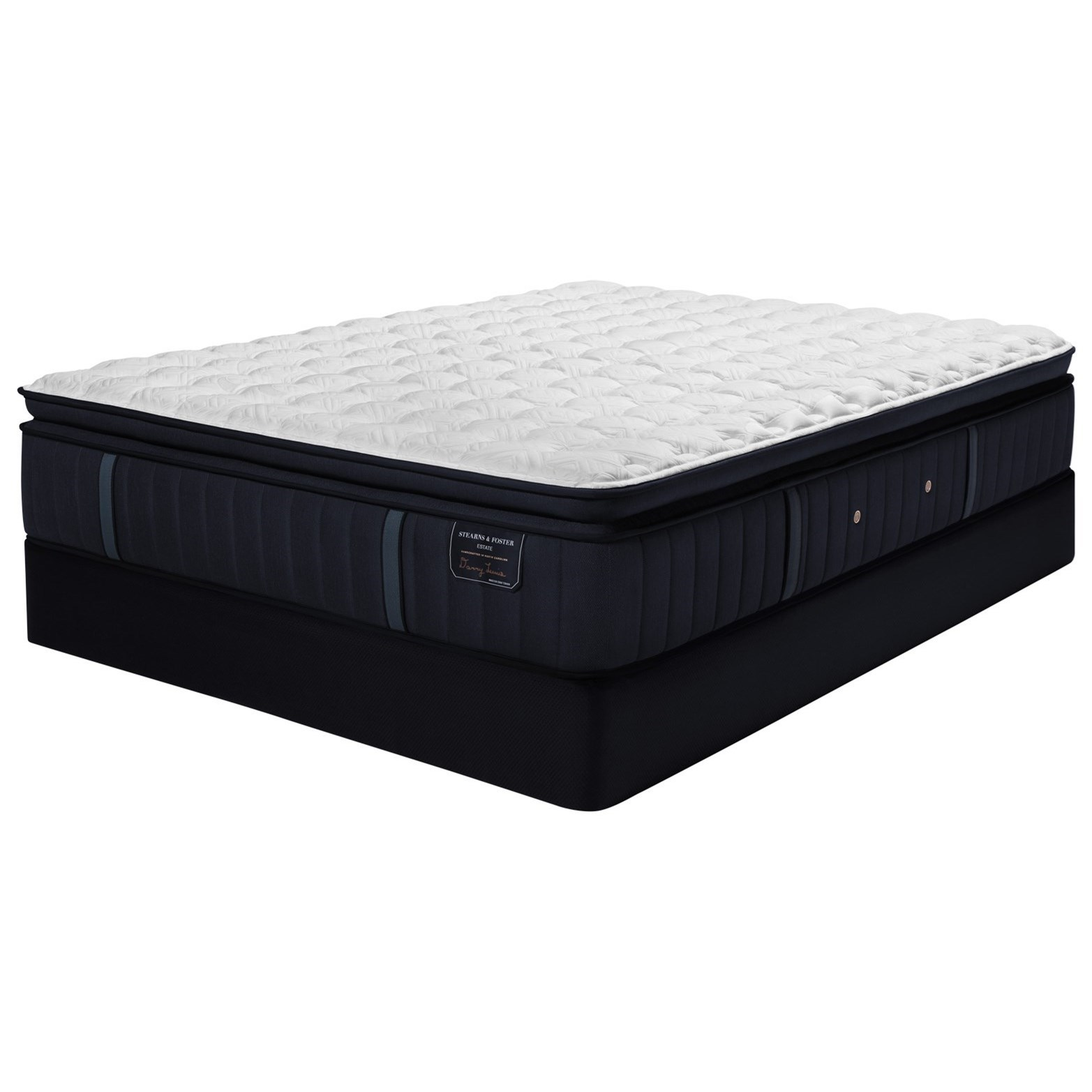 "Hurston ES2 Luxury Plush EPT Twin XL 14 1/2"" Luxury Mattress Set by Stearns & Foster at Prime Brothers Furniture"