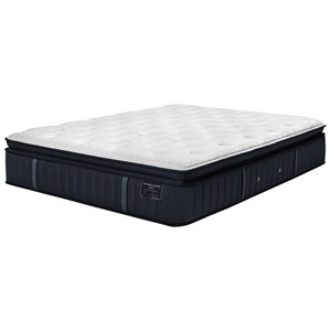 "Twin Extra Long 15"" Luxury Firm Euro Pillow Top Mattress"