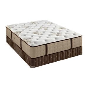 Queen Luxury Firm Mattress and Iconic Flat Foundation