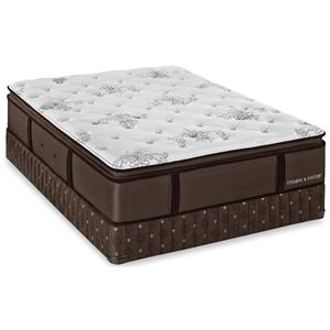 California King Luxury Firm Mattress and Low Profile Box Spring