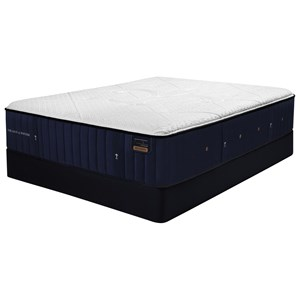 "Queen 15"" Luxury Firm Premium Coil on Coil Mattress and 9"" SX4 Foundation"