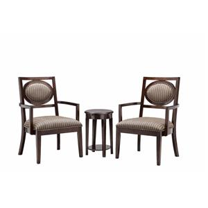 Stein World Accent Chairs 2 Chairs & Table Set