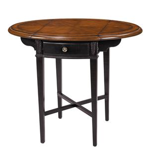 Stein World Accent Tables Round Drop Leaf Accent Table