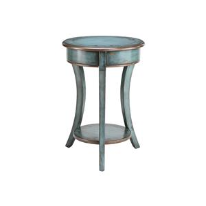 Round Accent Table Curved Legs