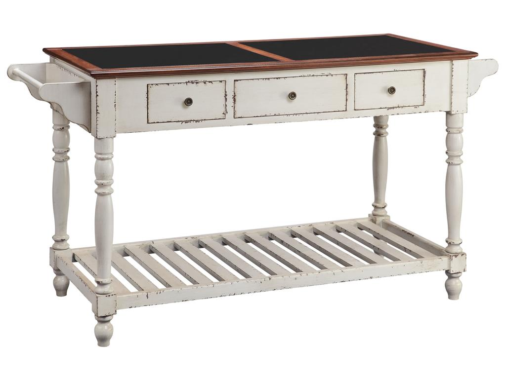 Accent Tables Kitchen Island by Stein World at Dream Home Interiors