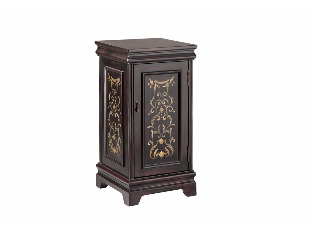 Accent Tables Pedastal with Storage by Stein World at Dream Home Interiors