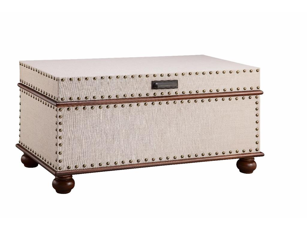 Accent Tables Nailhead Trunk by Stein World at Dream Home Interiors