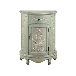 Painted Lucille End Table