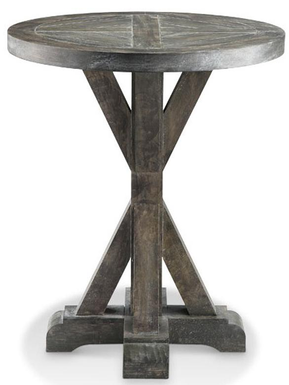 Accent Tables Bridgeport Round End Table by Stein World at Dream Home Interiors