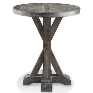 Bridgeport Round End Table