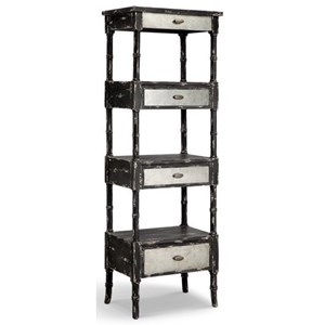 Zornes Drawer and Shelf Bookcase