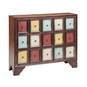 3-Drawer Multi-Colored Cabinet
