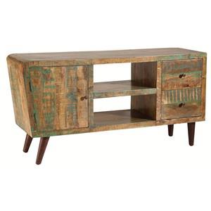 1-Door, 2-Drawer Wood Cabinet