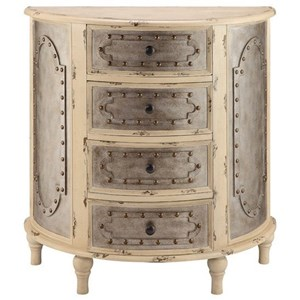 Jassiem Metal and Wood Accent Chest