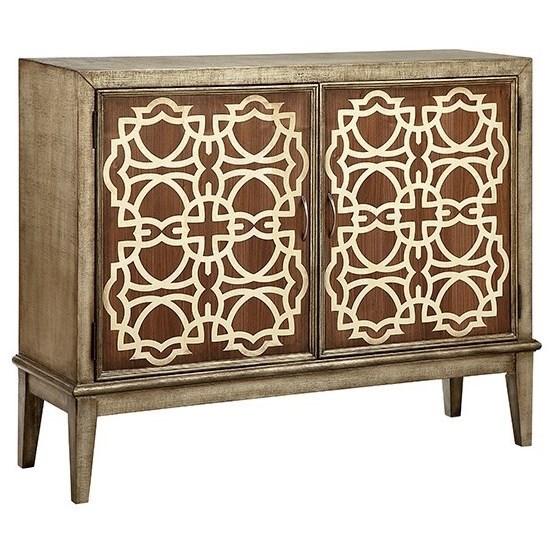 Cabinets Veranda 2-Door Cabinet by Stein World at Westrich Furniture & Appliances