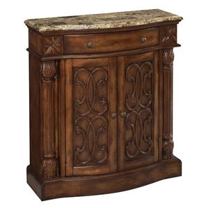 Stein World Cabinets Carved Cabinet