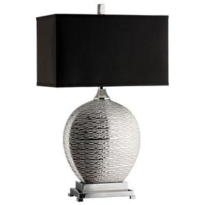 Stein World Lamps Silver Textured Table Lamp