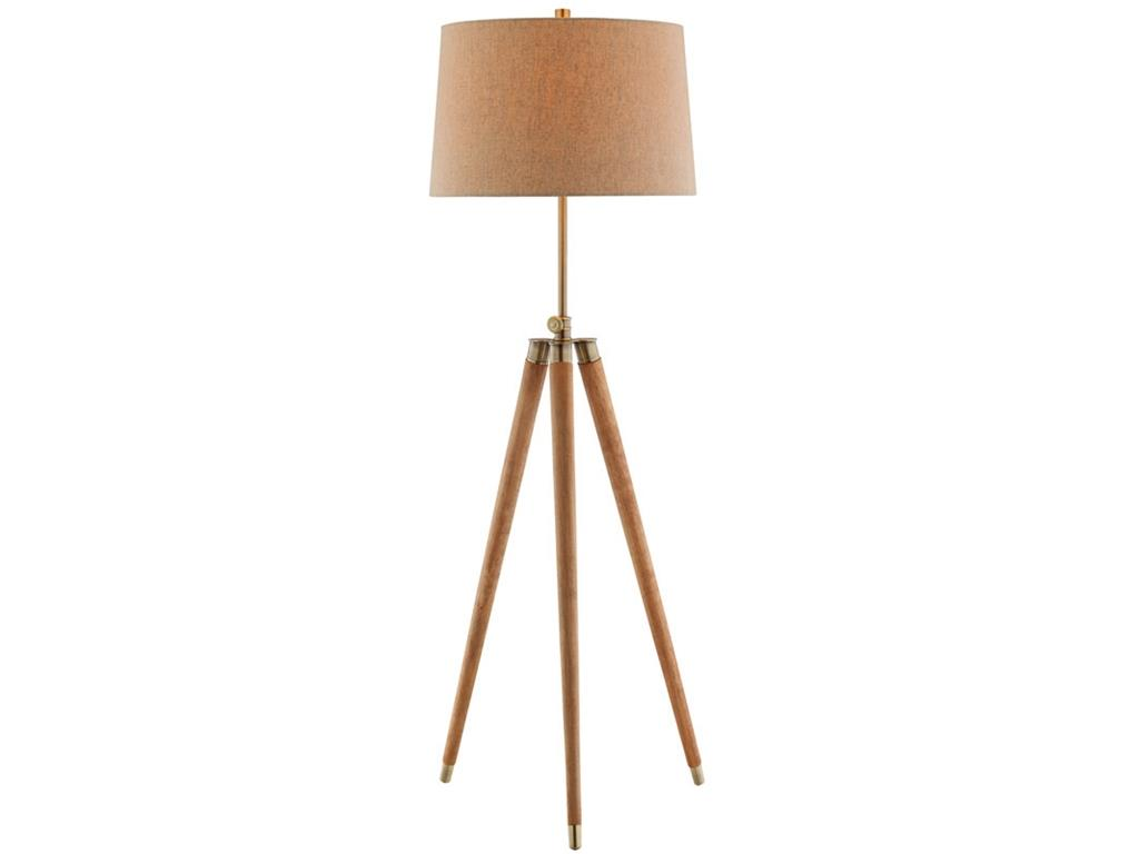 Lamps Floor Lamp by Stein World at Westrich Furniture & Appliances