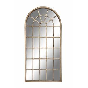 Cathedral Wall Mirror with Arched Frame