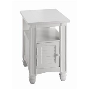 Chairside Table with Door
