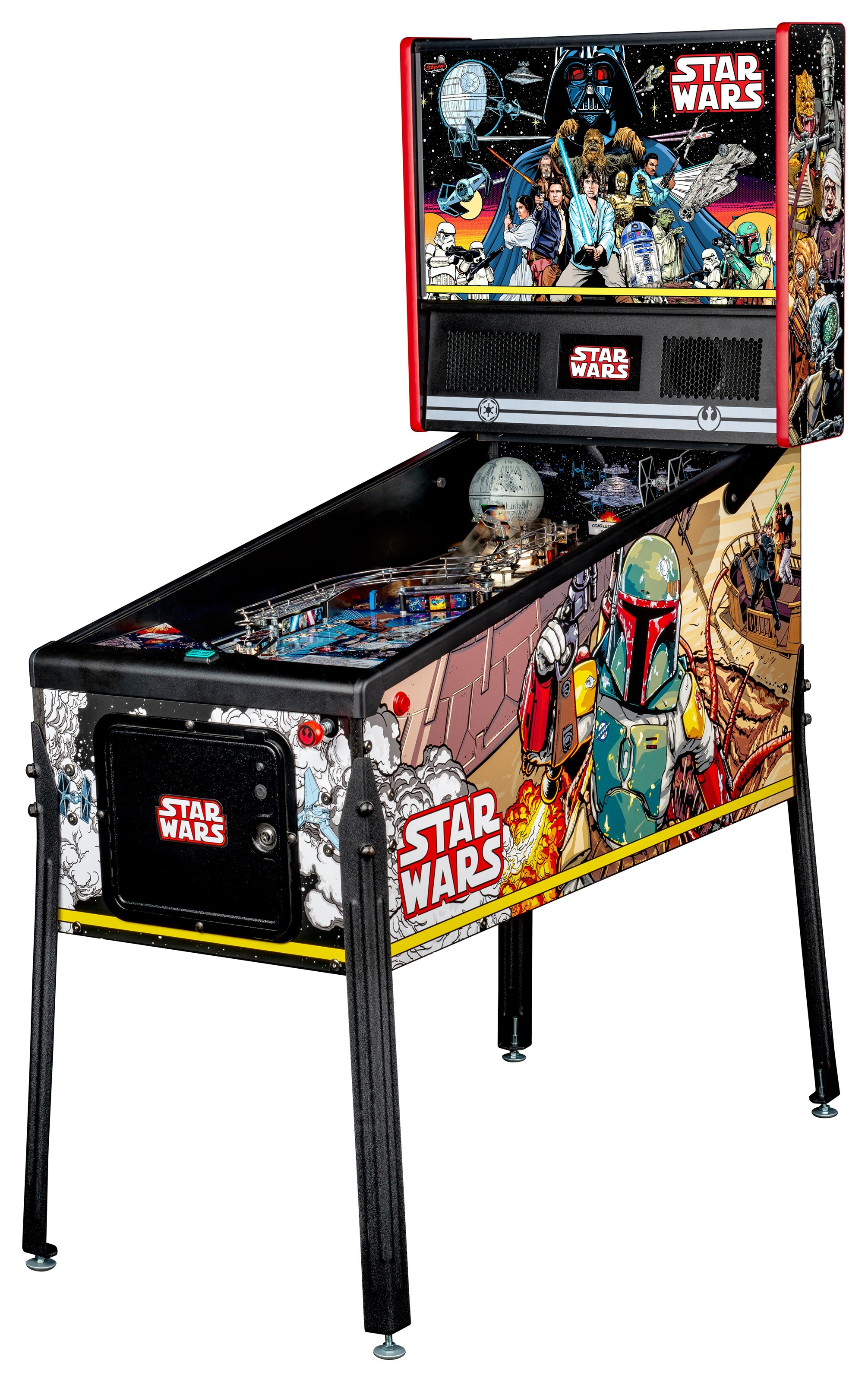 Games Star Wars Comin Pin Pinball Machine by Stern Pinball at Johnny Janosik