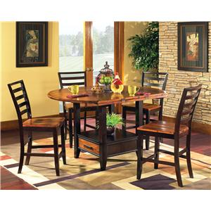 7Pc Counter Height Dinette