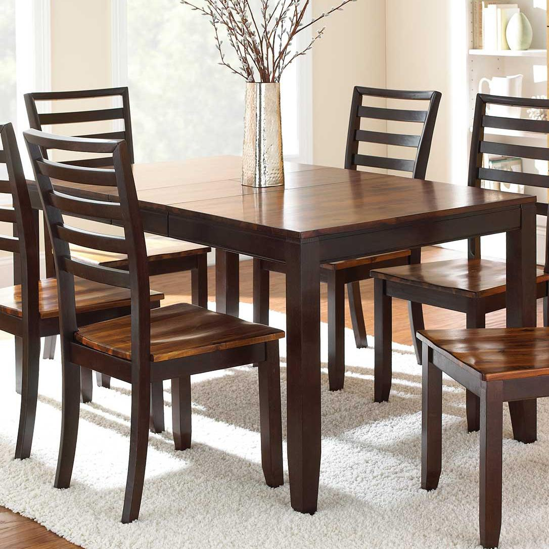 Abaco Rectangular Leg Table by Steve Silver at Van Hill Furniture