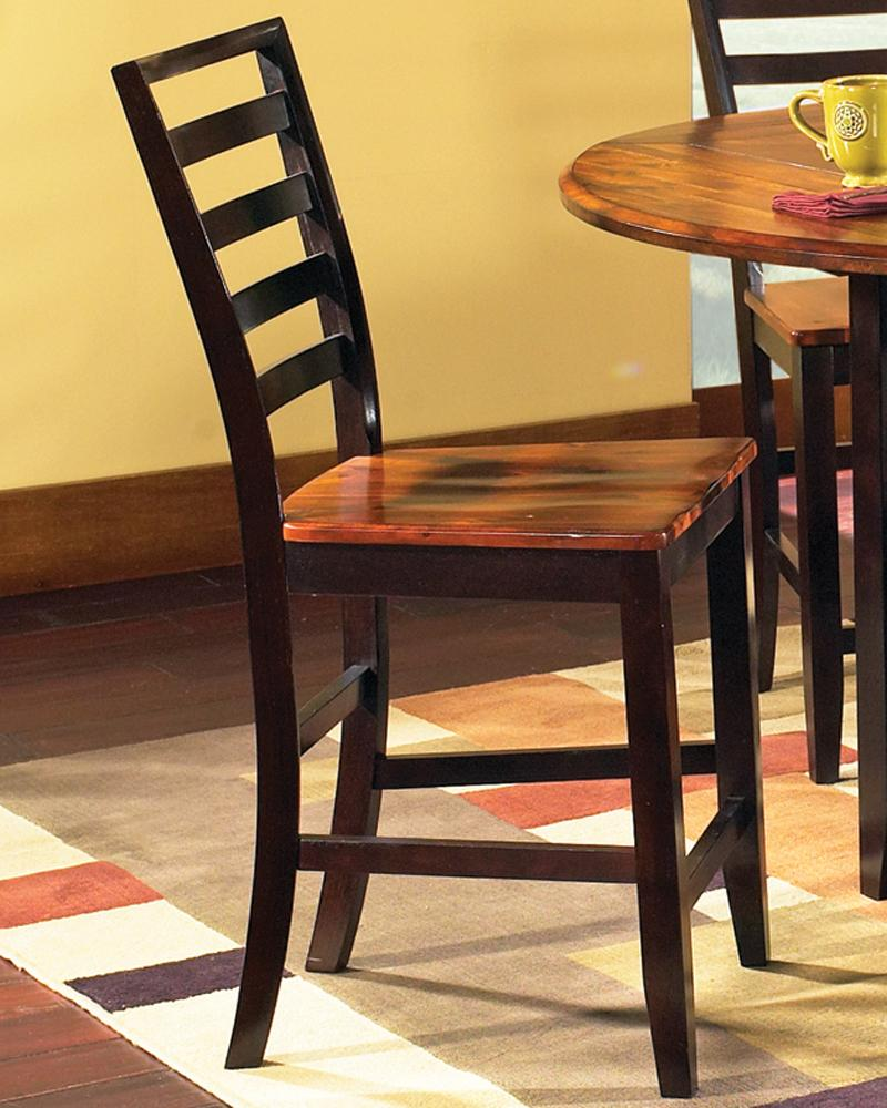 Abaco Ladder Back Counter Stool by Steve Silver at A1 Furniture & Mattress