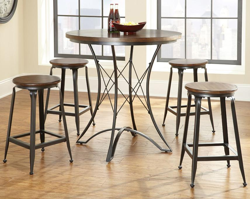 Adele Counter Height Dining Set by Steve Silver at Walker's Furniture