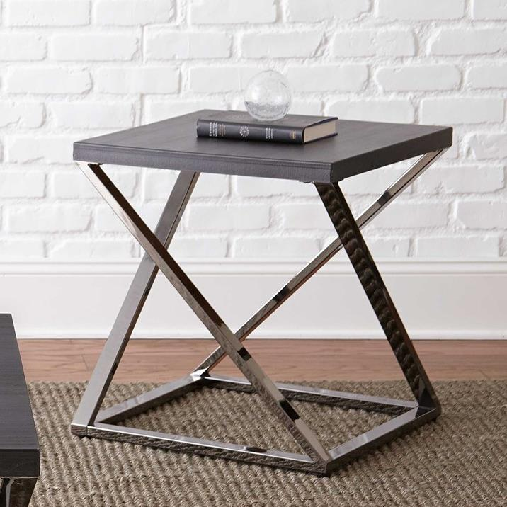 Aegean End Table by Steve Silver at Walker's Furniture