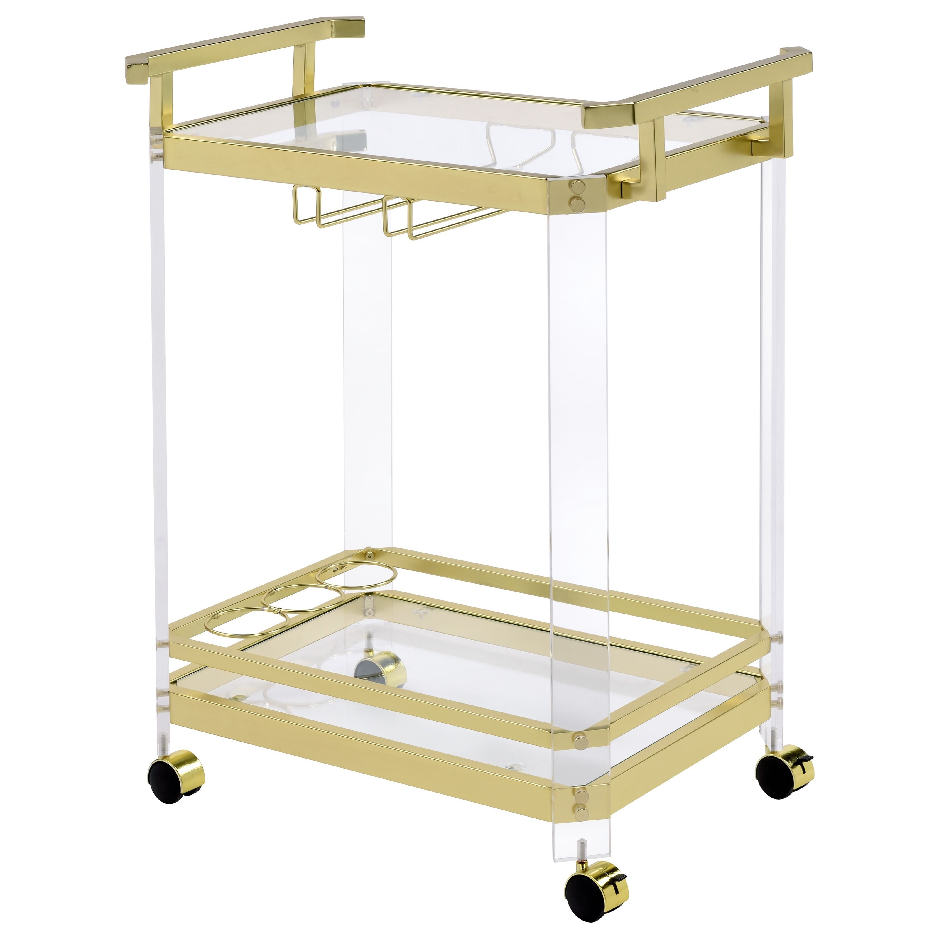 Aerin Server Cart by Steve Silver at Standard Furniture